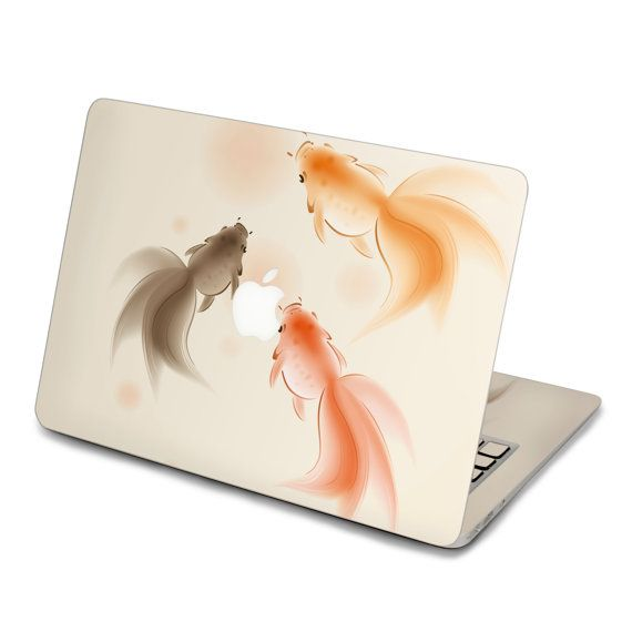 Goldfish back cover fo Decal Macbook Air Sticker by FindFun, $16.00