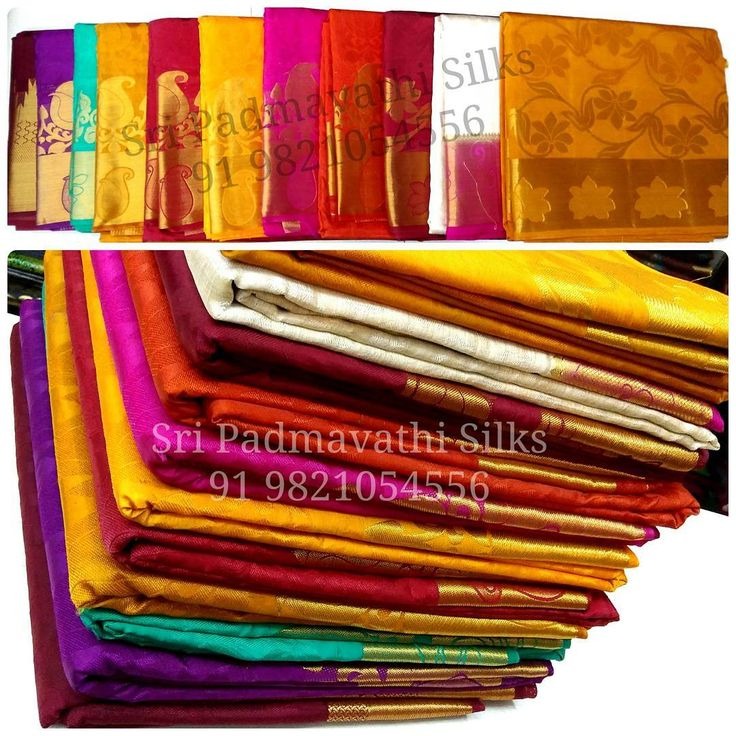 South Indian style zari border sarees ideal for Navratri and Golu gifting and office events. Book now 91 9821054556 Sri Padmavathi Silks, the only south Indian store in Dombivli, Mumbai, India. #navratri #golu #diwali #gift #gifting #officewear #colour #navratri2016 #mumbai #indianwear #saree #sarees #weddinggift #buyonline