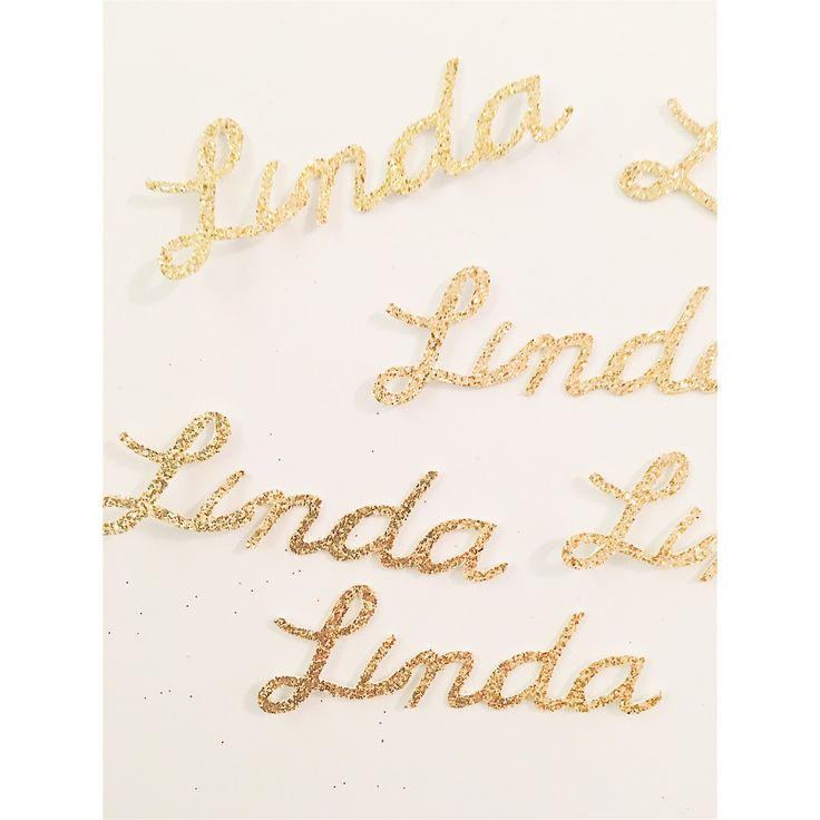 Love this custom name confetti from Party Perfect Boutique! So cute!  https://www.etsy.com/listing/252133174/gold-birthday-name-confetti-birthday