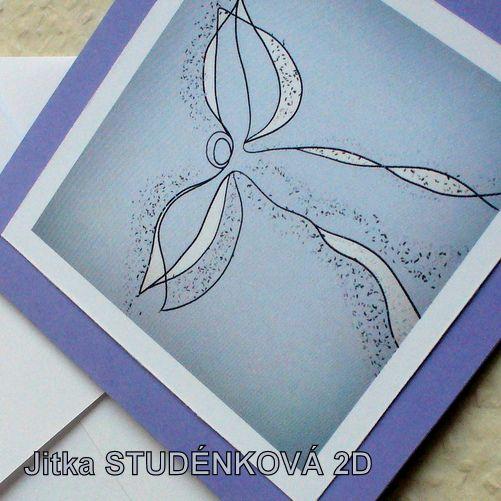 Angel Card  - Andělské přání (č.8) Přání, které obdarovaným přináší ochranu andělských bytostí. Čtvercové přání o rozměrech 10x10 cm z jemně strukturovaného papíru. Vlastní autorský motiv je vytištěn na hladkém papíře. Bílá ručně vyrobená obálka.