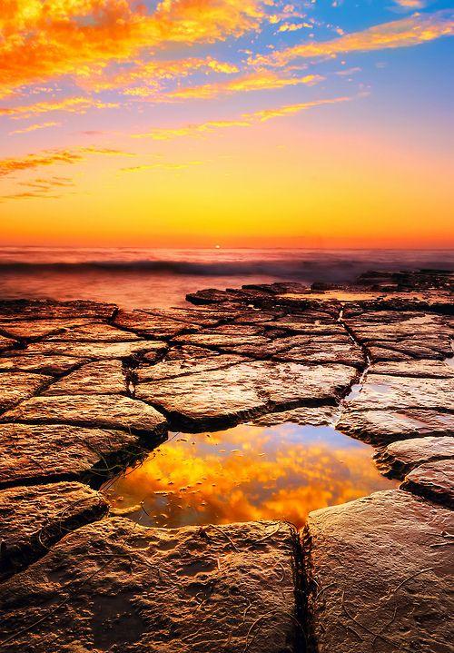 The Eye of Mordor, Sunset Cliffs Natural Park, San Diego, California