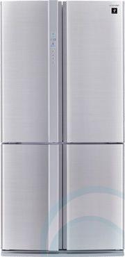 676L Sharp French Door Fridge SJFP676VSL $2969