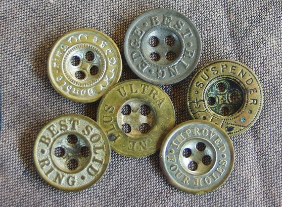 organic RARE Antique Bone Button Forms  Molds for delicate intricate crocheted buttons SUPERIOR QUALITY Brand natural