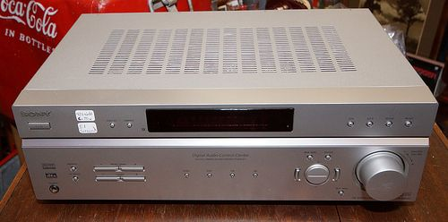 Sony STR-K660P Home Theater Receiver 5.1 Channels Amplifier  RD9841  Go back to Tin Can Alley - FOR SALE: http://www.bagtheweb.com/b/PBdAfQ