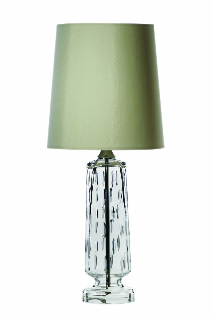 """Lamps - Raindrops 16"""" Lamp and Shade - Galway Crystal €199.95"""