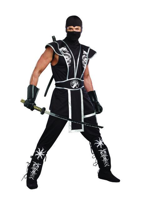 Men's Blades of Death Ninja Costume - The Costume Shoppe