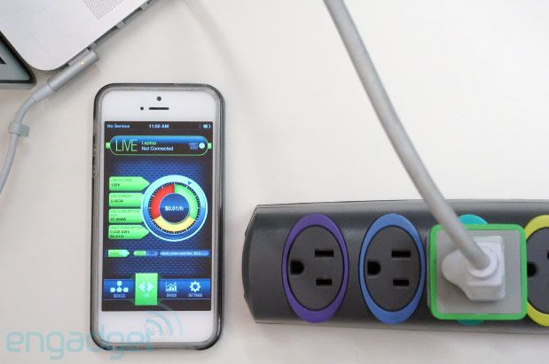 MeterPlug Bluetooth power monitor tracks usage, sends stats to your smartphone