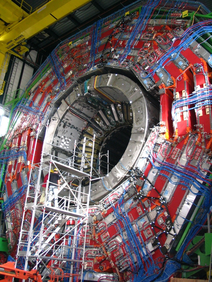 Compact Muon Solenoid, part of the The Large Hadron Collider (LHC) is the world's largest and highest-energy particle accelerator.