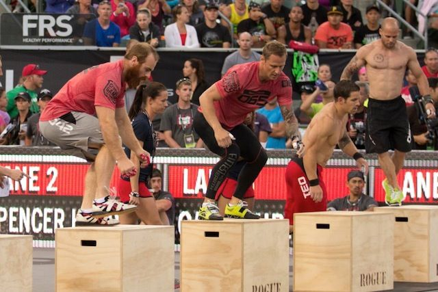 Lucas Parker and Chris Spealler CrossFit Games