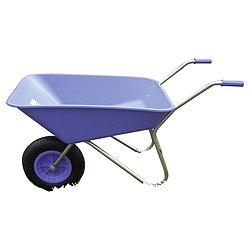 Threeway Bull Barrow Picador Plastic Wheelbarrow - Purple