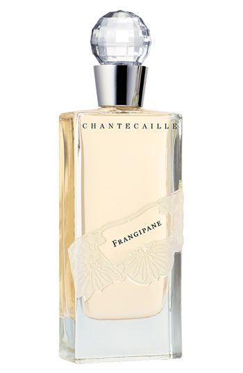 Chantecaille 'Frangipane' Eau de Parfum Known by various civilizations as 'the eternal perfume,' the sweet, calming fragrance of frangipani is exuded by waxy yellow or pink blossoms. It is sensual, intense and spiritual.    Top notes: exotic orange and violet leaves.  Middle notes: water hyacinth, ylang-ylang and jasmine.  - Bottom notes: vanilla, musk and vetiver.