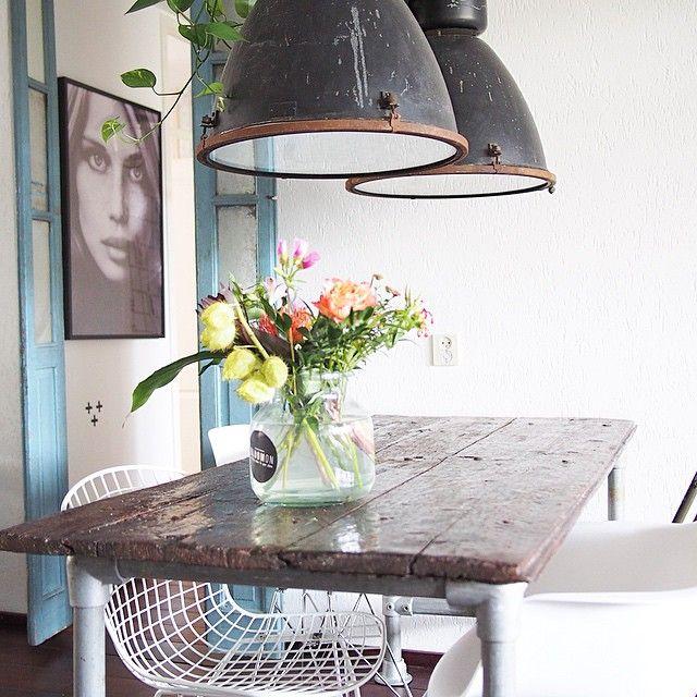 #bloomon #interieur #interior123 #vintage#industrieel#industrial#vintagelab15#viamartine #wonen#binnenkijken