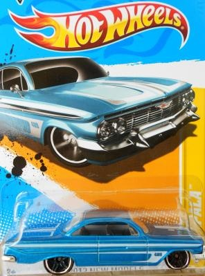 61 Impala Have This One In A Few Flavors Hot Wheels Cars