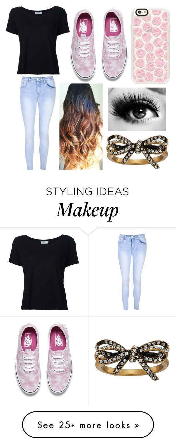 """""""❤❤👌👌"""" by mariana4703 on Polyvore featuring Frame Denim, Glamorous, Vans, Casetify and Marc Jacobs"""