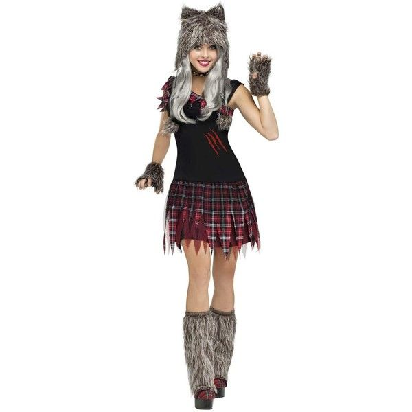 Best 25 wolf costume women ideas on pinterest red riding hood wickd wolfie sexy womens werewolf costume 45 liked on polyvore featuring solutioingenieria Image collections