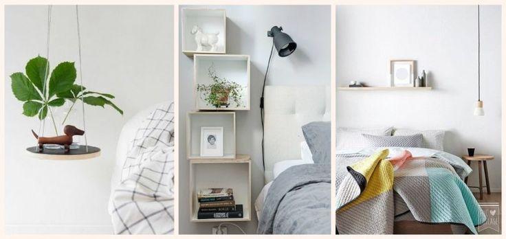 Küçük Yatak Odaları İçin 21 Süper Küçük Komidin Fikirleri | Estetikev