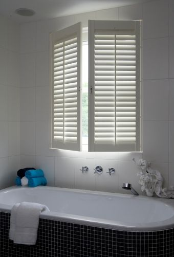 Badkamer - Jasno Shutters & Blinds