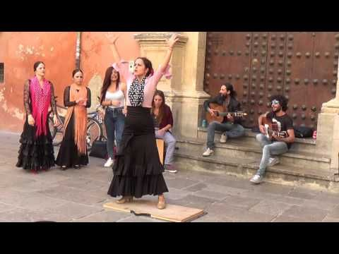 Flamenco dance (7) in Granada 2015 - YouTube