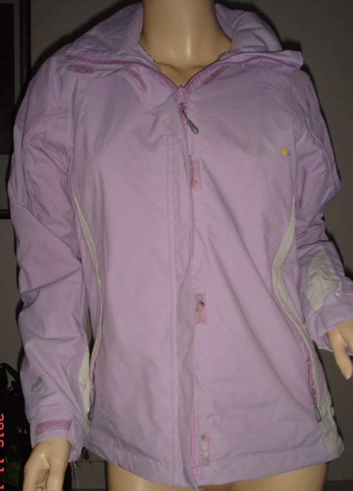 Regatta  Ladies Waterproof Lilac  Jacket Size 10 £6.99 or Best Offer Ebay Uk Item No 361838967739