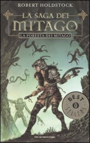 Robert Holdstock: Mythago wood | italian cover | #book #cover #robertholdstock #wood #bookcover #mythago