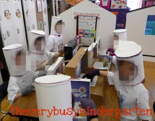 The Very Busy Kindergarten: Space Unit