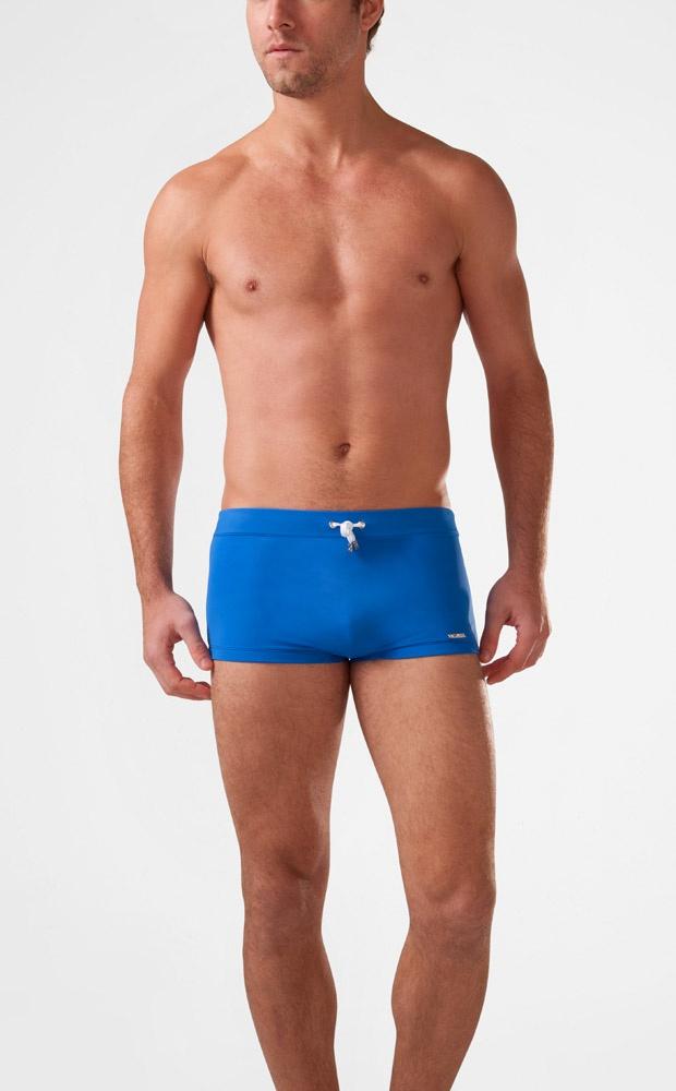 Mens Cabo Square-Cut Trunk : Mens Swim Briefs & Trunks | 2(X)IST ($78)