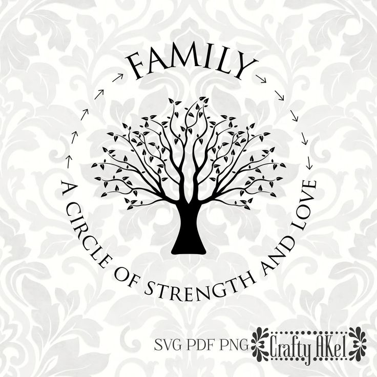 Download Family; A circle of strength and love [family tree, family ...