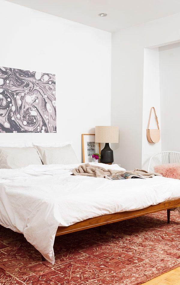 Wandgestaltung Schlafzimmer Ideen – 40 coole Wandfarben ...