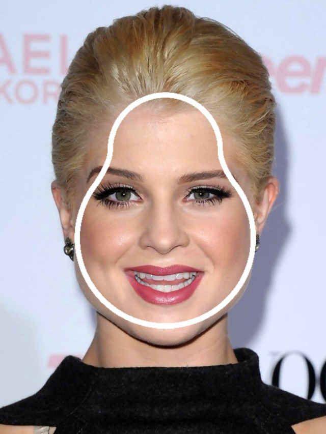 Kelly Osbourne pear face