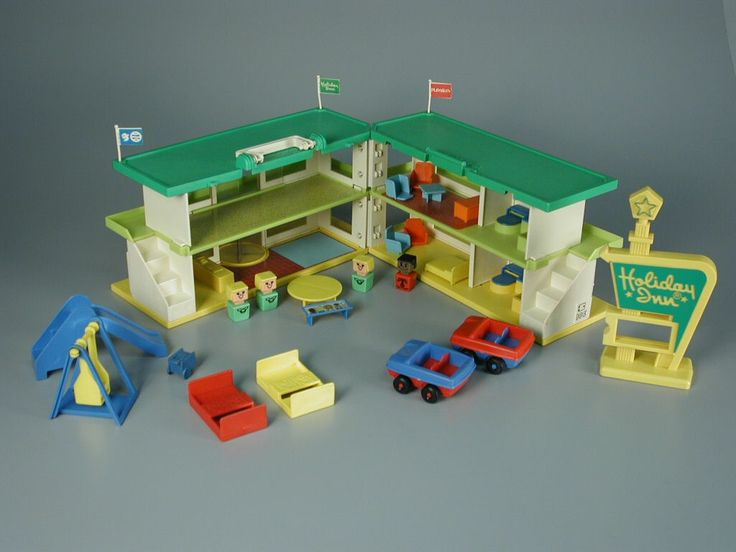 Playskool's Holiday Inn...I loved this playset and its square people.