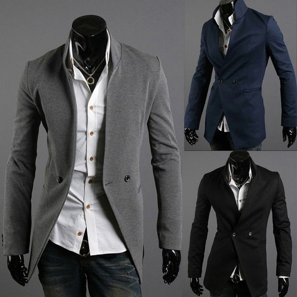 Men's Fashion Casual Slim Fit Suits via martEnvy. Click on the image to see more!