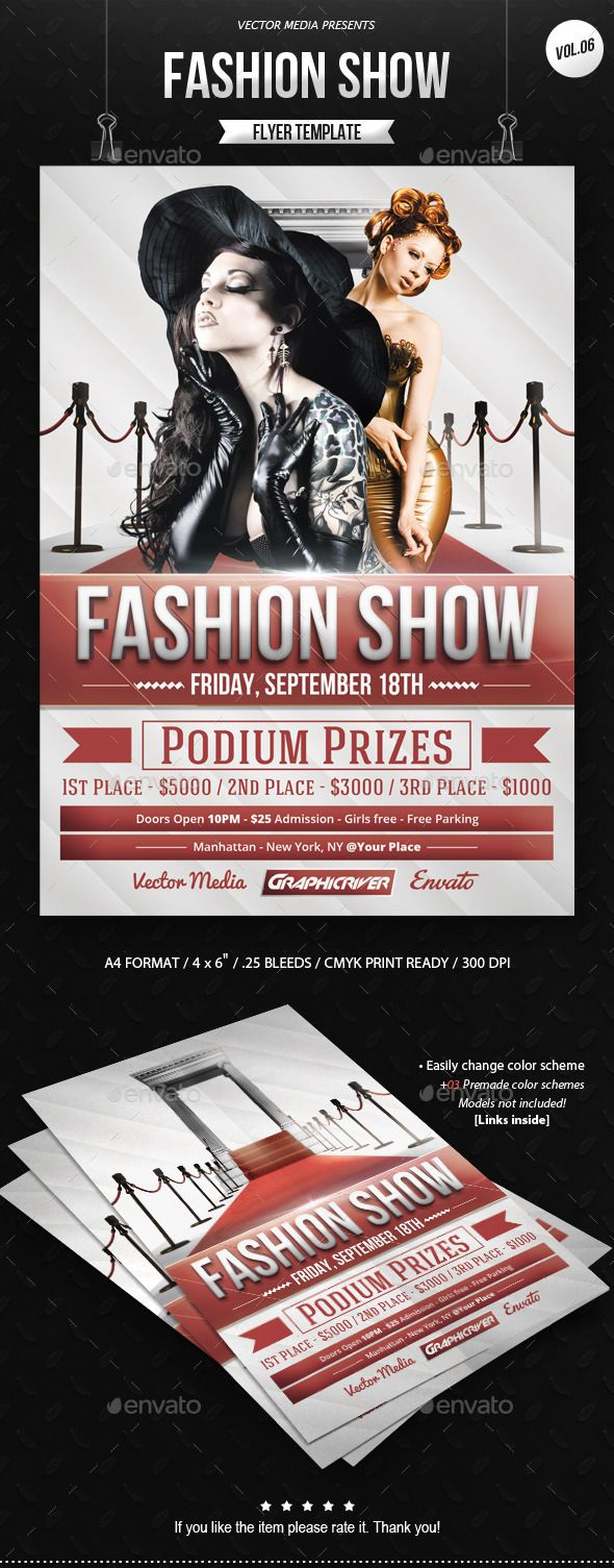 best ideas about advertising flyers photography fashion show flyer vol 06
