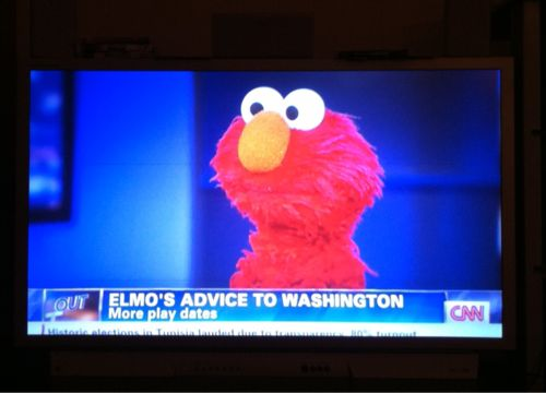 That's what I'm talking about, Elmo.