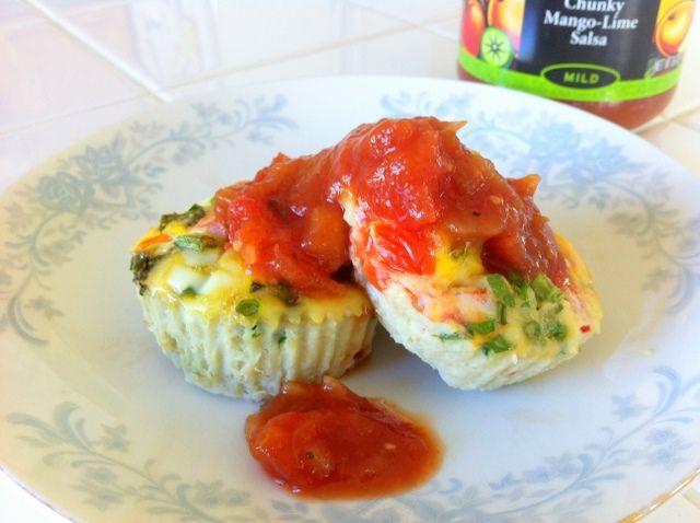high protein breakfast egg muffin