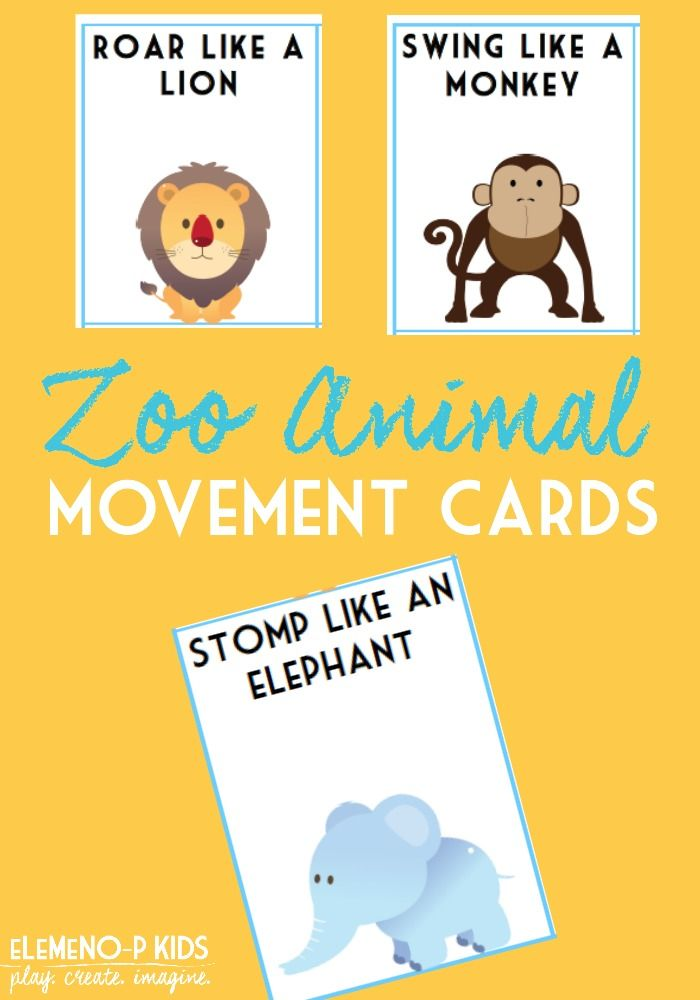 zoo animal movement cards elemeno p kids posts zoo activities preschool zoo preschool zoo. Black Bedroom Furniture Sets. Home Design Ideas