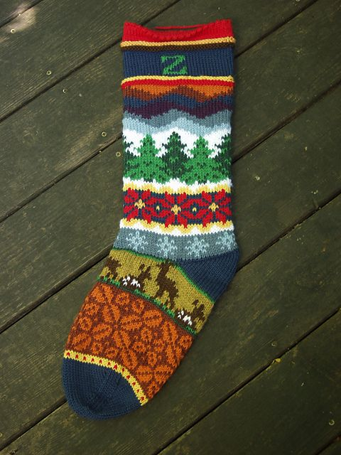 Ravelry: Project Gallery for Spindleknitter's Stockings pattern by Kirsten Hall