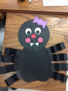 All About Spiders! Cute Halloween craft for kids!!