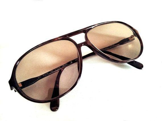 Vintage Bifocal Sunglasses Silhouette Austria Brown by Lunartics