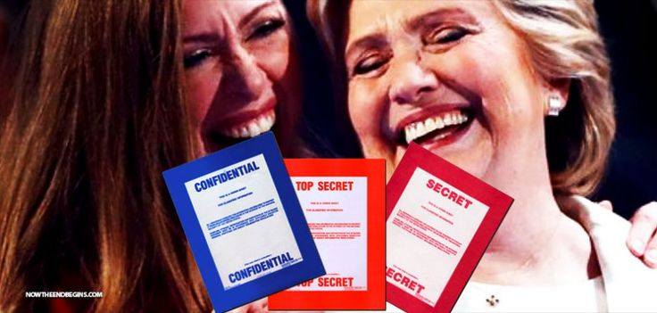 BOMBSHELL: Crooked Hillary Sent Classified Info To Chelsea Under Fake Name 'Diane Reynolds' • Now The End Begins