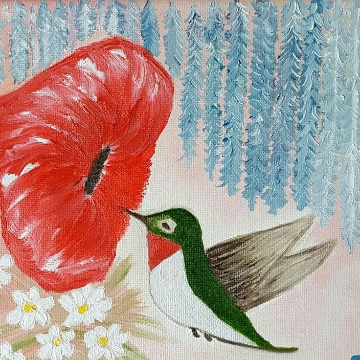 """Hummingbird""  SOLD"