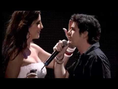 """IVETE SANGALO e ALEJANDRO SANZ -   """"Corazón Partio"""" - Show no Maracanã, Rio de Janeiro."""