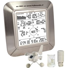 estaciones meteorológicas, miden viento, humedad, temperatura en FULLMUNDO.CL