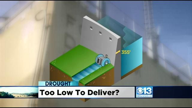 Drought Could Leave Folsom Lake Levels Too Low To Pump To Residents | Watch the video - Yahoo News