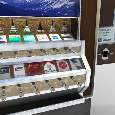 hut vending machine