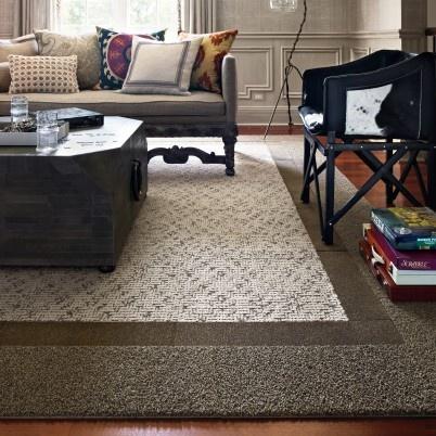 106 best images about flor tile designs on pinterest for Rugs for basement floors