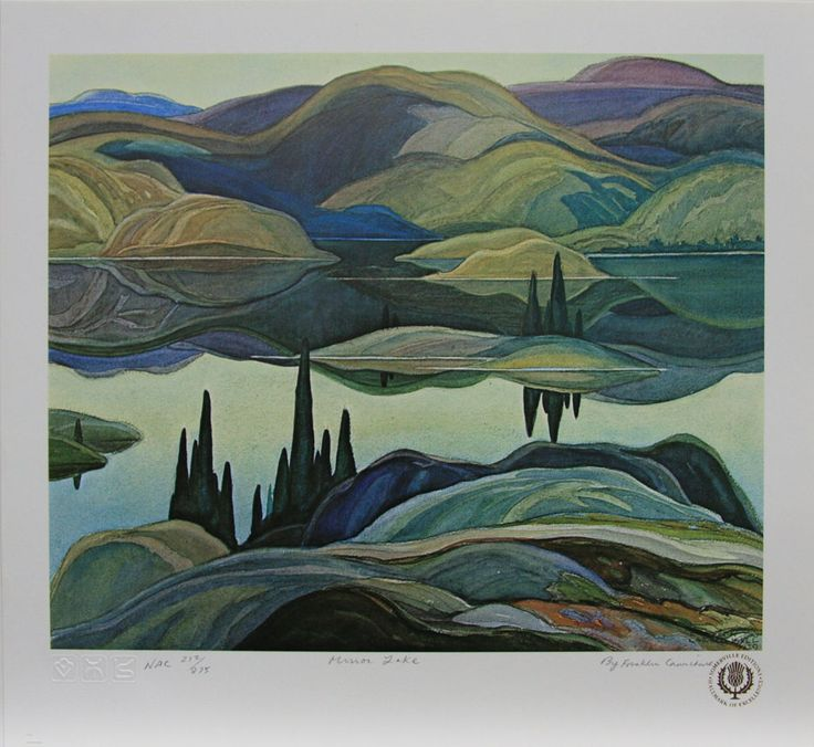 Franklin Carmichael - MIRROR LAKE