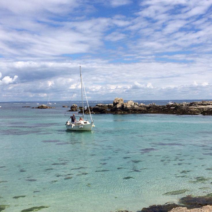 Shoot of beautiful place - Archipel des Glénan (île aux moutons)