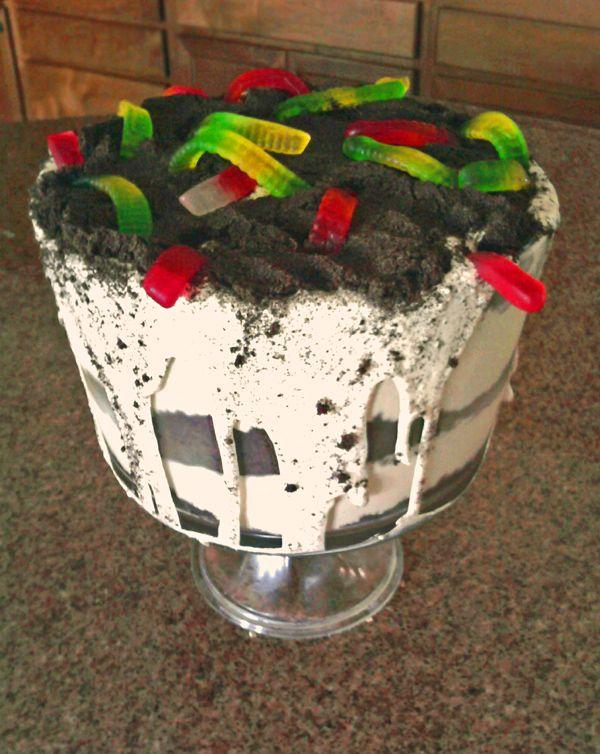 Dirt Cake Ideas For Halloween : 17 Best ideas about Dirt Pie on Pinterest Oreo dirt cake ...