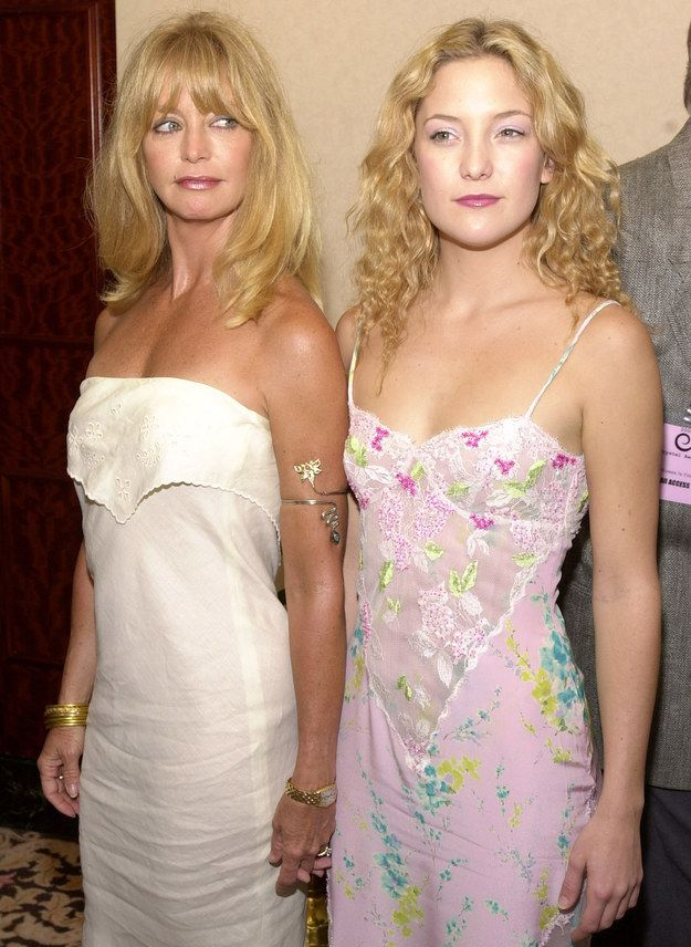 Kate Hudson And Goldie Hawn Remain The Cutest Hollywood Mom And Daughter Pair