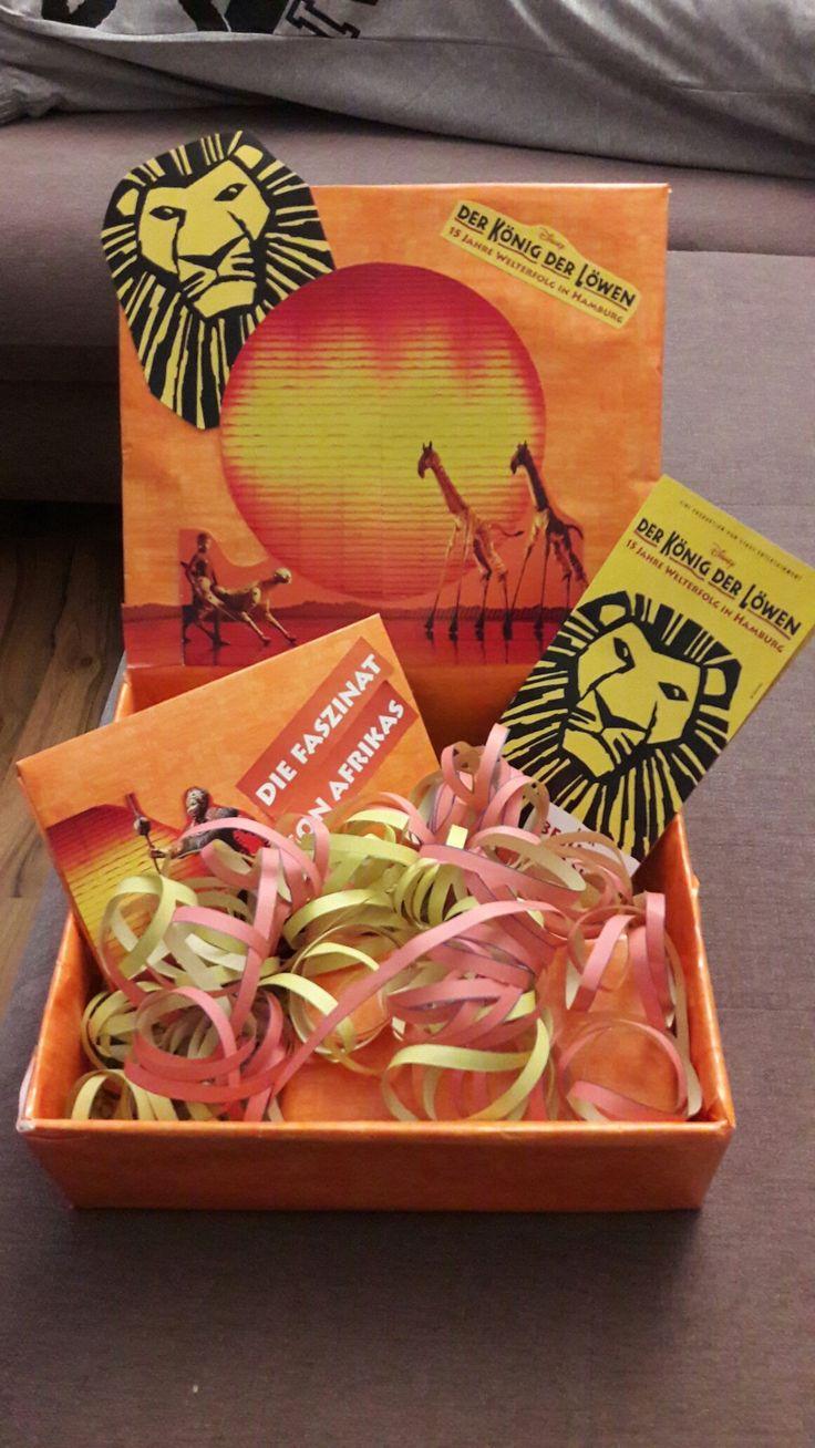 König der Löwen Geschenkidee / Verpackung